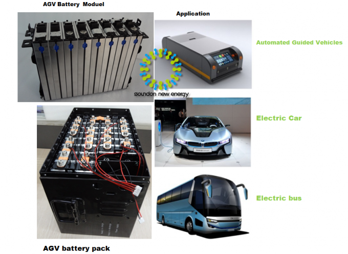 Battery Powered Vehicles / Golf Cart Batteries lifepo4 24V 100Ah Large Cpacity