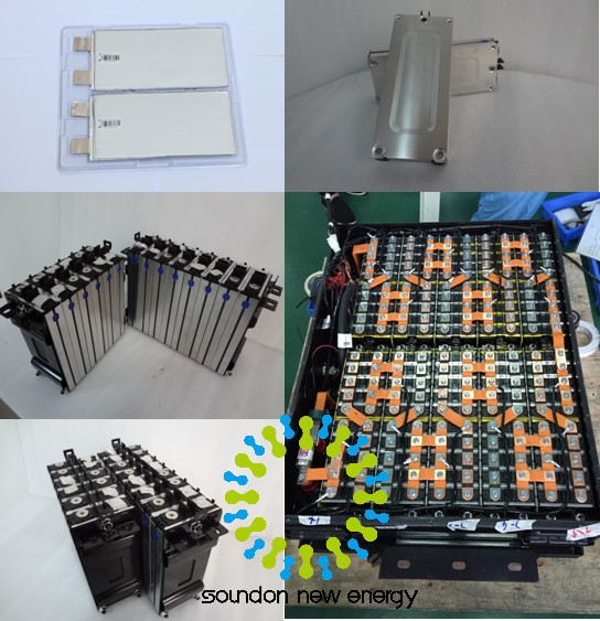 64V 60Ah Lithium Battery Packs For Electric Vehicles , Lithium Iron Phosphate Car Battery