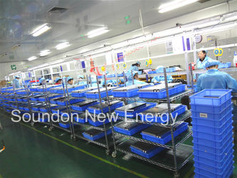 Battery module production line