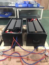High Capacity Batteries Used In Electric Cars NCM48V75Ah 12.5A Max Charging Current