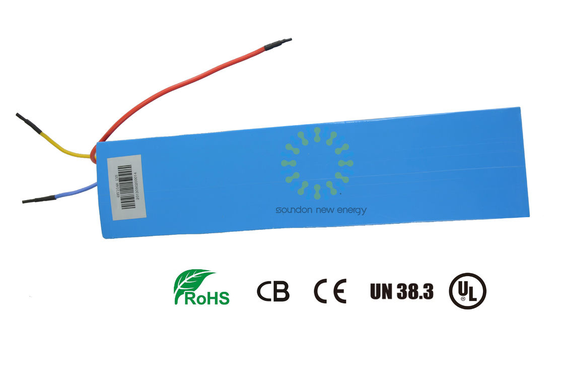 48v Electric Bike /  Electric Bicycle Battery Replacement  1500 Cycles Life 13 Series Compound Mode