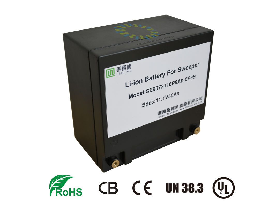 Lifepo4 12v 40ah Battery , UPS Replacement Batteries 10C Discharge Current