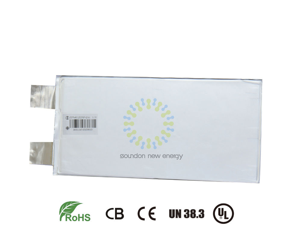 China Energy Storage System Lithium Nmc Battery Safety 3.2 Volt 20AH ROHS Passed factory