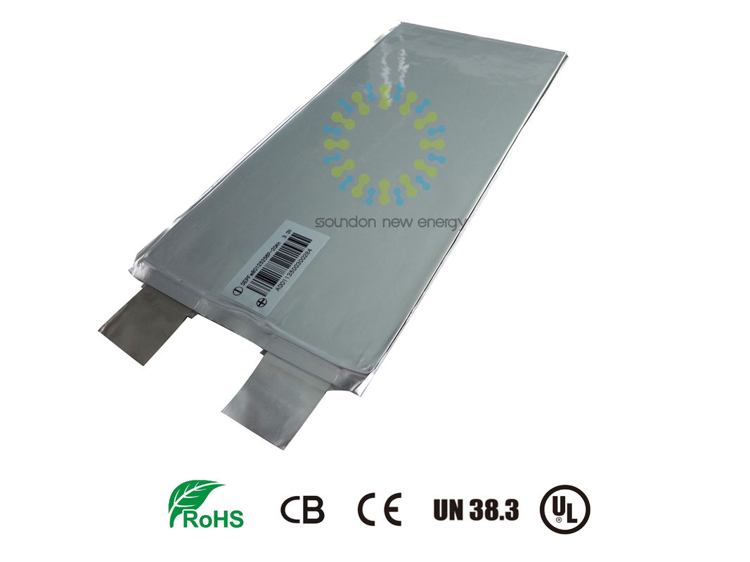 China Electric Vehicle Rechargeable Li Ion Nmc Battery Attractive Cycle Life 3.7V 12AH factory