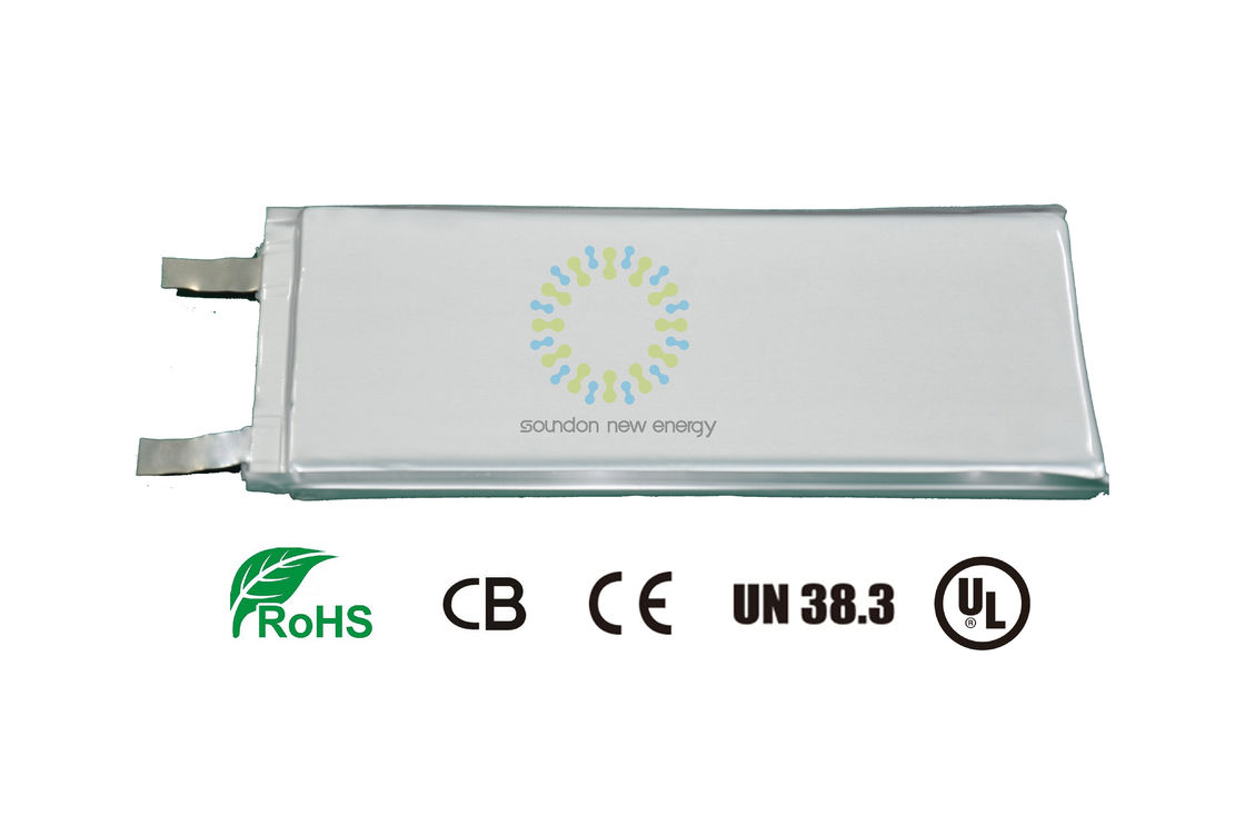 3.7V Lithium Ion Battery Cells 3.7V 8AH , Rechargeable Lithium Iron Phosphate Batteries supplier