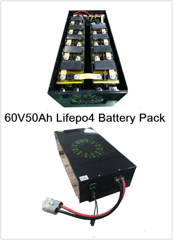 E Car / E Bus / E Tricycle Lithium Polymer Battery Pack 5 Parallel 20 Series Configuration