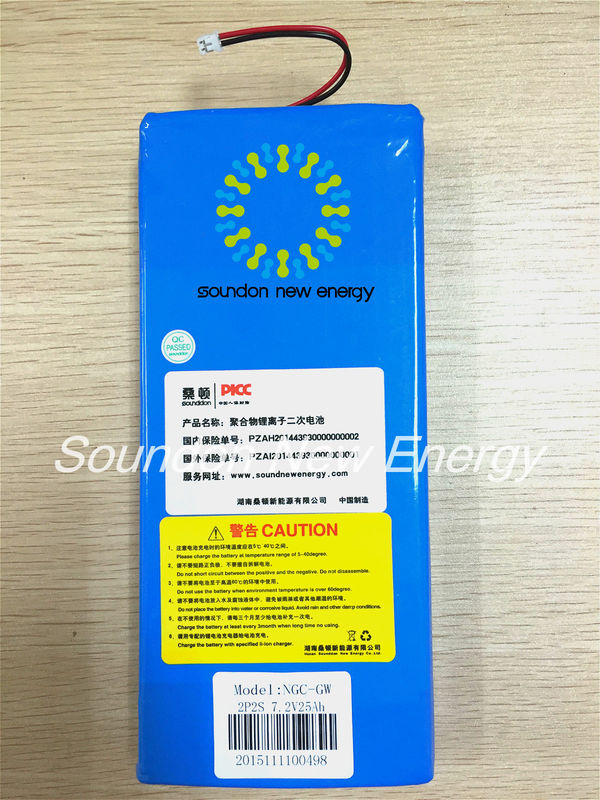 China 7.2V 25 Ah UPS Battery Replacement Overcharge / Overcurrent / Short Circuit Protection factory