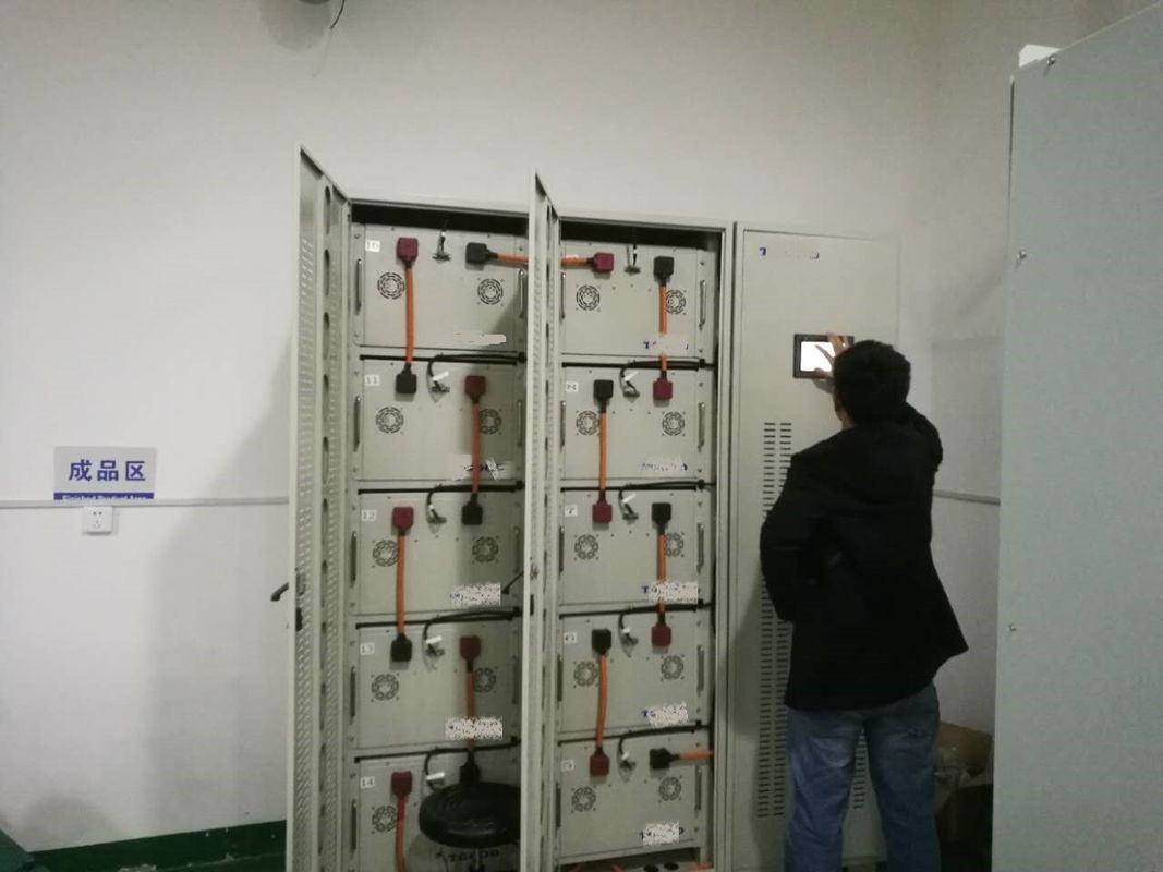 China 107.4Kwh 200A Ups System Batteries With IP20 Grade For Mobile Emergency Power Supply factory