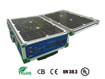 China Lifepo4 12V 60AH Storage Battery Systems With Solar Panel For Portable UPS distributor