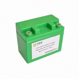 China Lithium Ion Rechargeable Battery Pack For Electric Car / Jump Starter / Solar Led Lighting distributor