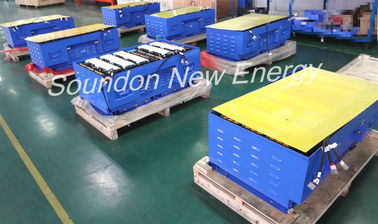 China EV Battery Pack For 6 Meters Coster Electric Bus , Lightweight Deep Cycle Marine Battery distributor